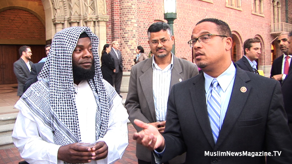 Congress Keith Ellison Shines During American Muslims In Public